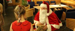 Familiejulebord på Sørmarka