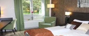 Hotellrom på Sørmarka konferansehotell