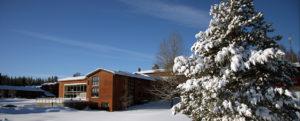 Vinter på Sørmarka konferansehotell