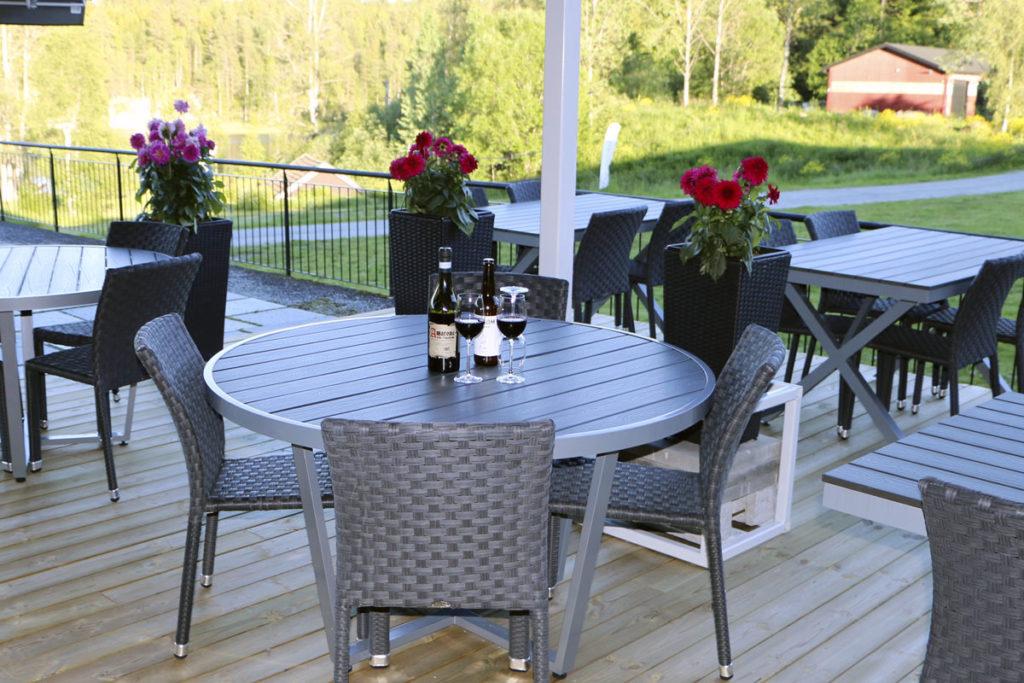 Sørmarka konferansehotell - Utsikten Terrasse