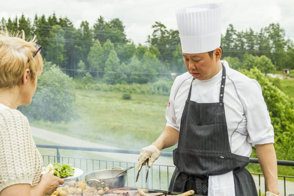 Sørmarka konferansehotell - grilling